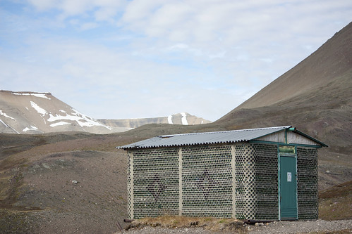 Glass house in Pyramiden | by Kitty Terwolbeck