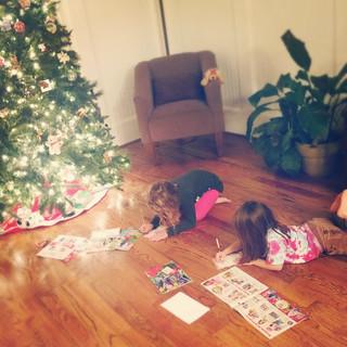Writing Letters to Santa   by lukehamilton
