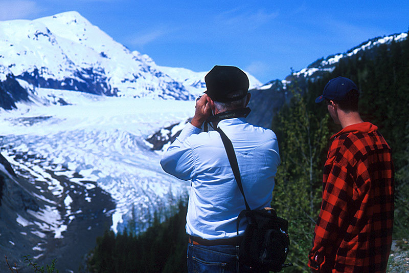 Glacier Viewing Tour, Stewart, Northern British Columbia, Canada