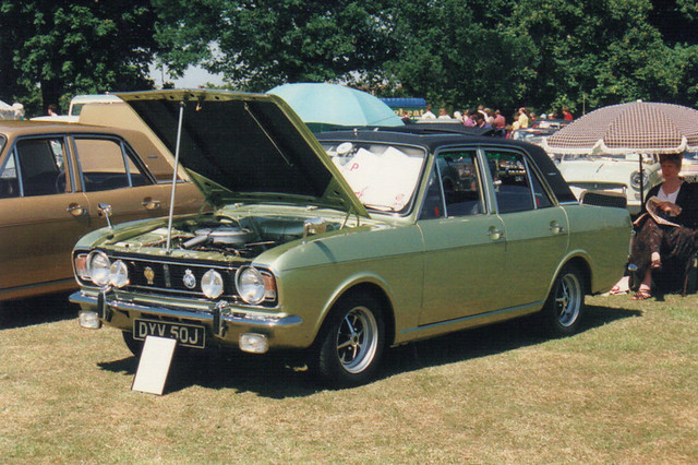 Ford Cortina 1600E - DYV 50J