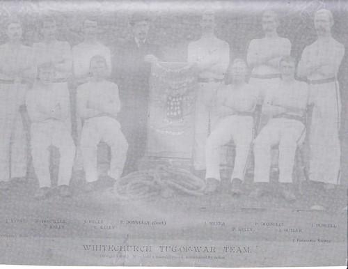 Whitechurch Tug of war team circa 1916