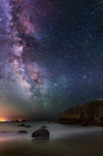 pacific ocean california san francisco sonoma county jenner point reyes schoolhouse duncans beach wrights emry milky way galaxy stars astrophotography night sky skies long exposure pentax k5 da15 limited ogps1 astrotracer nik efex photoshop mike oria photography mikeoriazenfoliocom astro tracer equatorial mount mikeoria published magazine stuff stuffuk uk