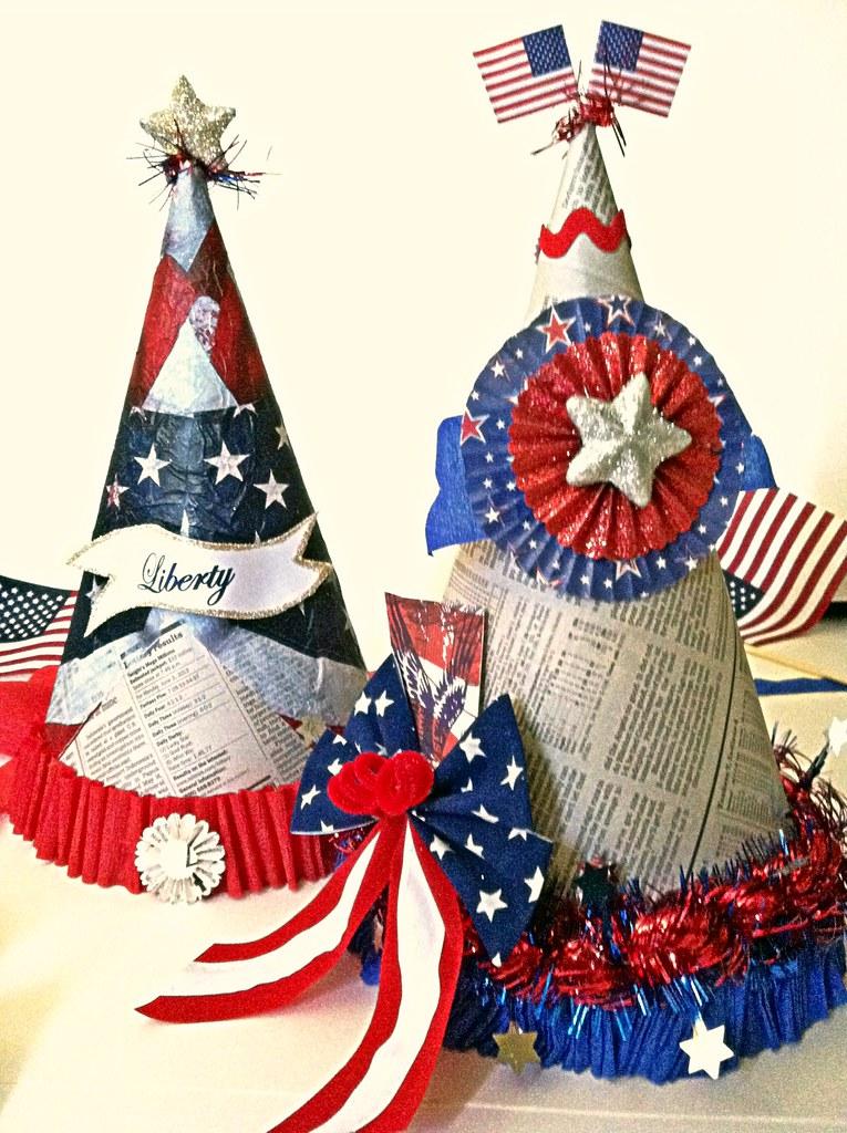 Patriotic Hats   Suzanne   Flickr