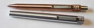 Karas Kustoms RETRAKT Copper with Render K Aluminum | by GourmetPens