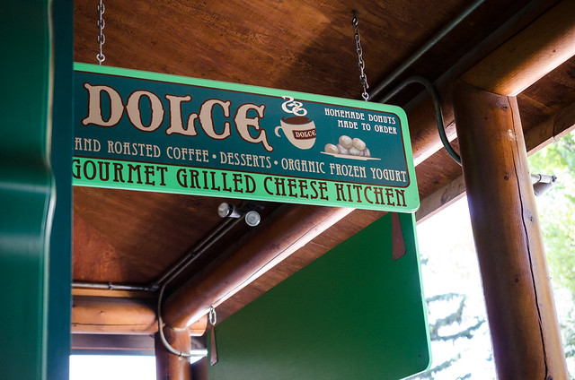 Dolce coffee shop in Jackson, WY