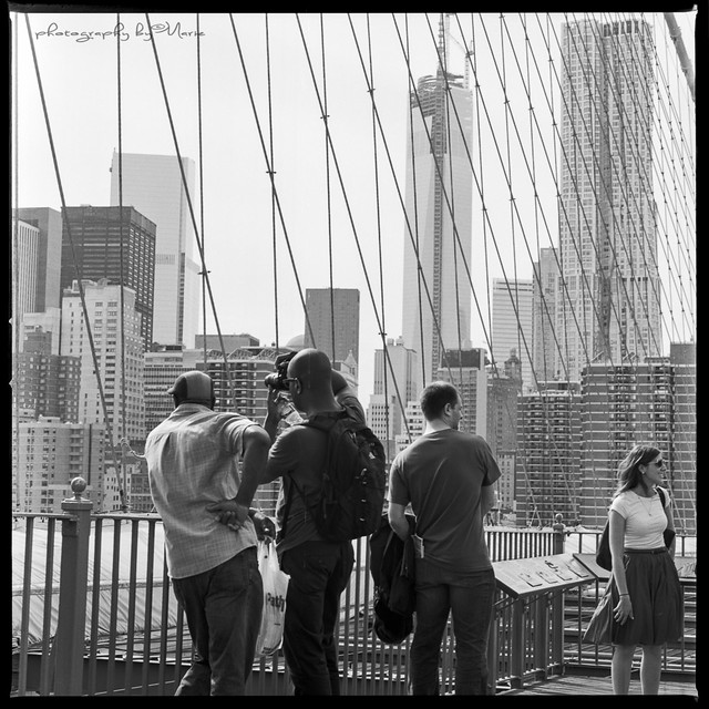Photographing photographers in New York