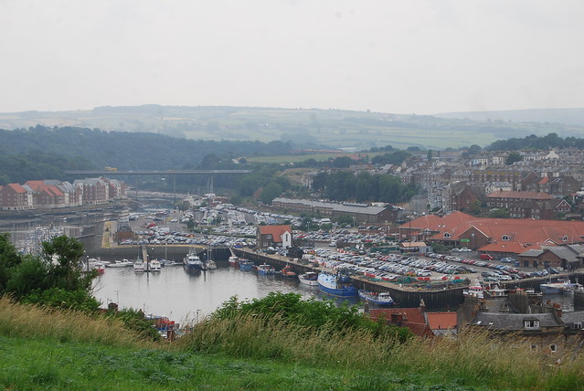 The River Esk into the Harbour