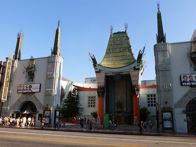 Chinese Theatre, Hollywood - Los Angeles, California