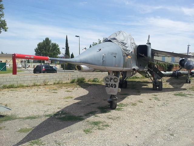 Jaguar-A A-149/7-HP ex EC-7 FrAF. Preserved, Orange town, 13-08-2012.