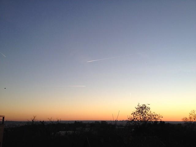 Couché de soleil sur Paris - 2