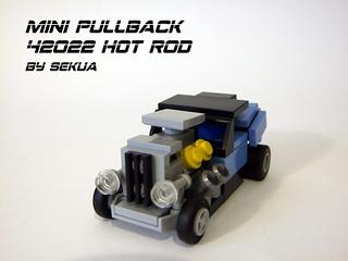 Mini Pullback 42022 Hot Rod   by SEKUAcreations