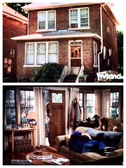 Only explanation: the King of Queens house is a Tardis