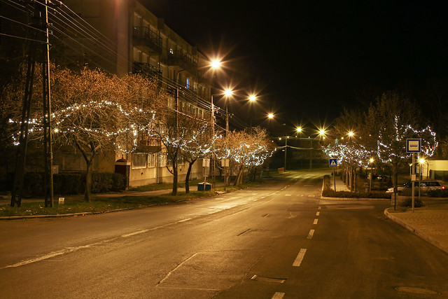 Christmas decoration in Tab, Hungary 2