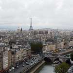 Paris as seen from Notre Dame