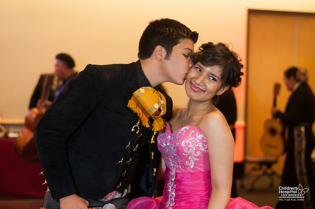 Quinceañera for a Latina Teen Cancer Patient at Children's ...