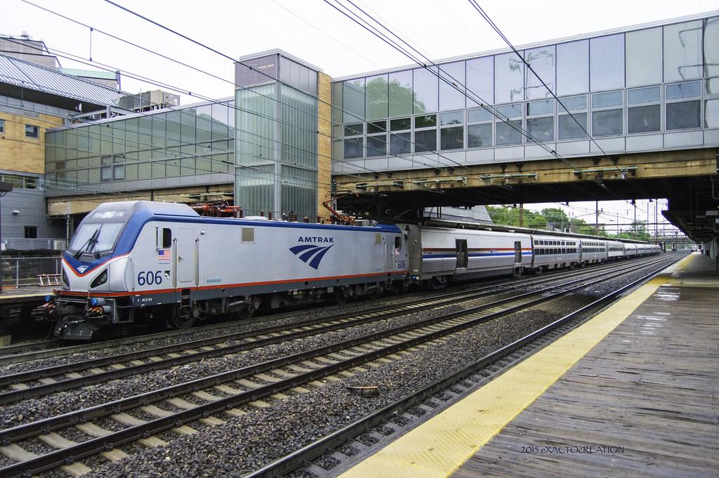 Amtrak ACS-64 #606   Trenton Transit Center   ExactoCreation