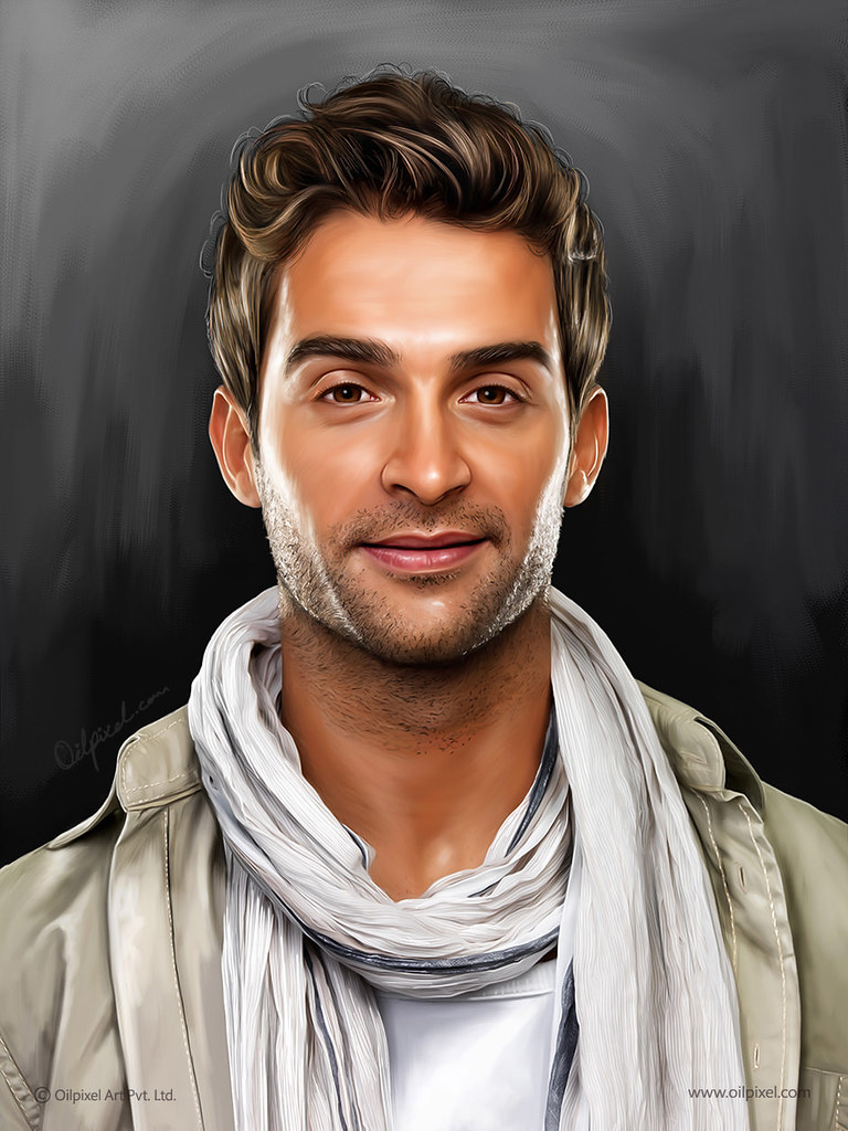 Self Portrait Painting By Oilpixel Art Pvt Ltd Digital Por Flickr