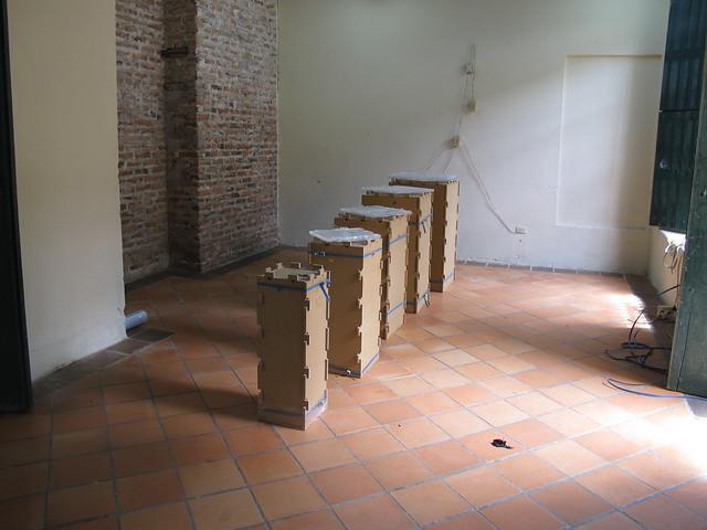 I muestra de Diseños Joyas contemporaneas Tierra de Mompox , una intervención a la tradición¨
