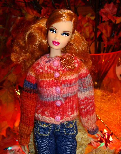 Autumn sweaters Falling Leaves #3