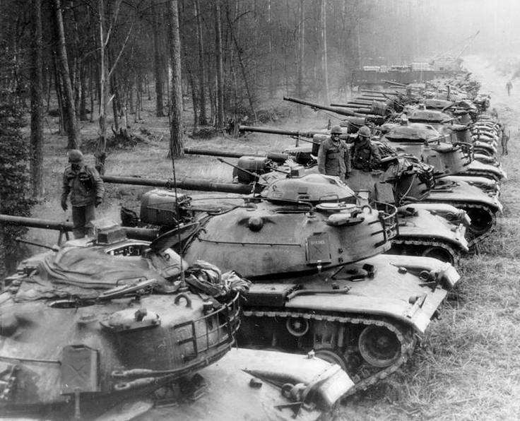 m-60 patton tank