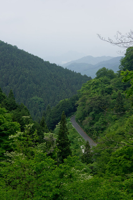 Wada-Toge Hill climb