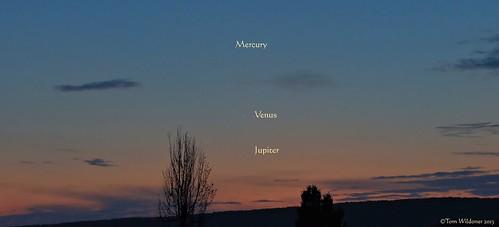 sunset sky night clouds stars timelapse venus mercury astrophotography planets astronomy nightsky jupiter conjunction tomwildoner