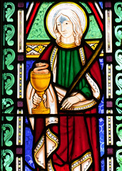 St John and poisoned chalice
