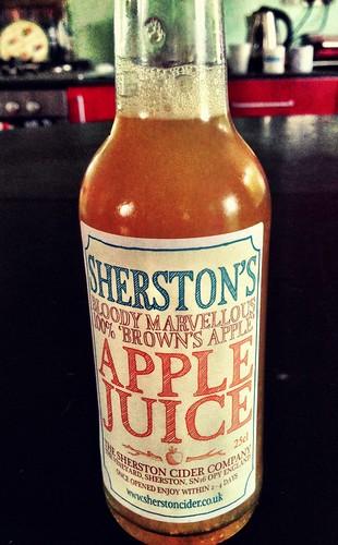 Sherston apple juice | by William Parsons Pilgrim