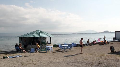 On the beach, Lake Sevan | by giocomai