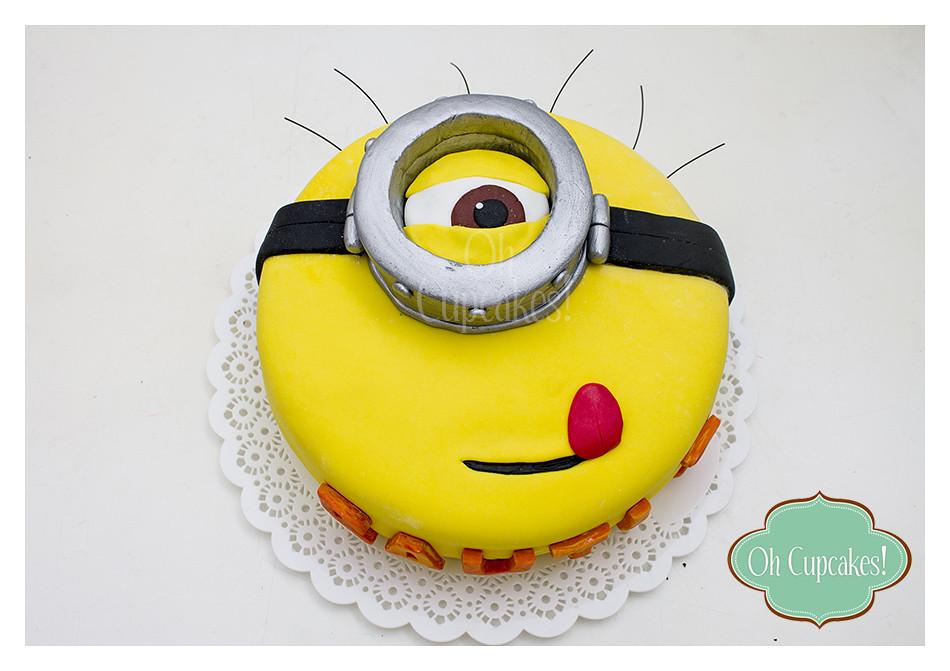Torta Minions <3 | Oh Cupcakes La Plata | Flickr