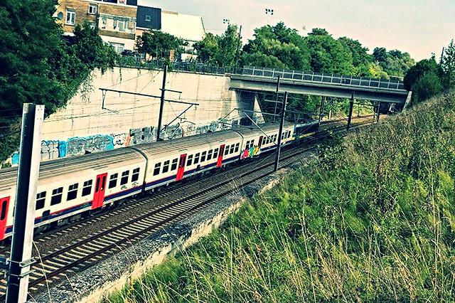 la ligne 36 à Haren