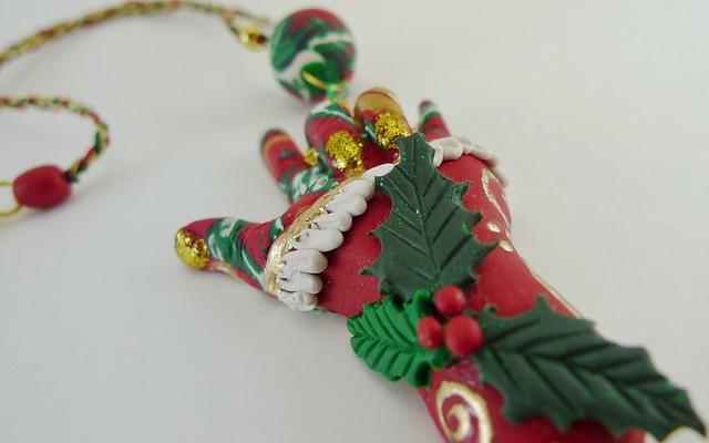 I Love You - Christmas Holly Leaf 8