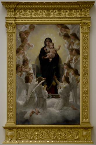 BOUGUEREAU William 1900 La Vierge aux anges | by PoissArt