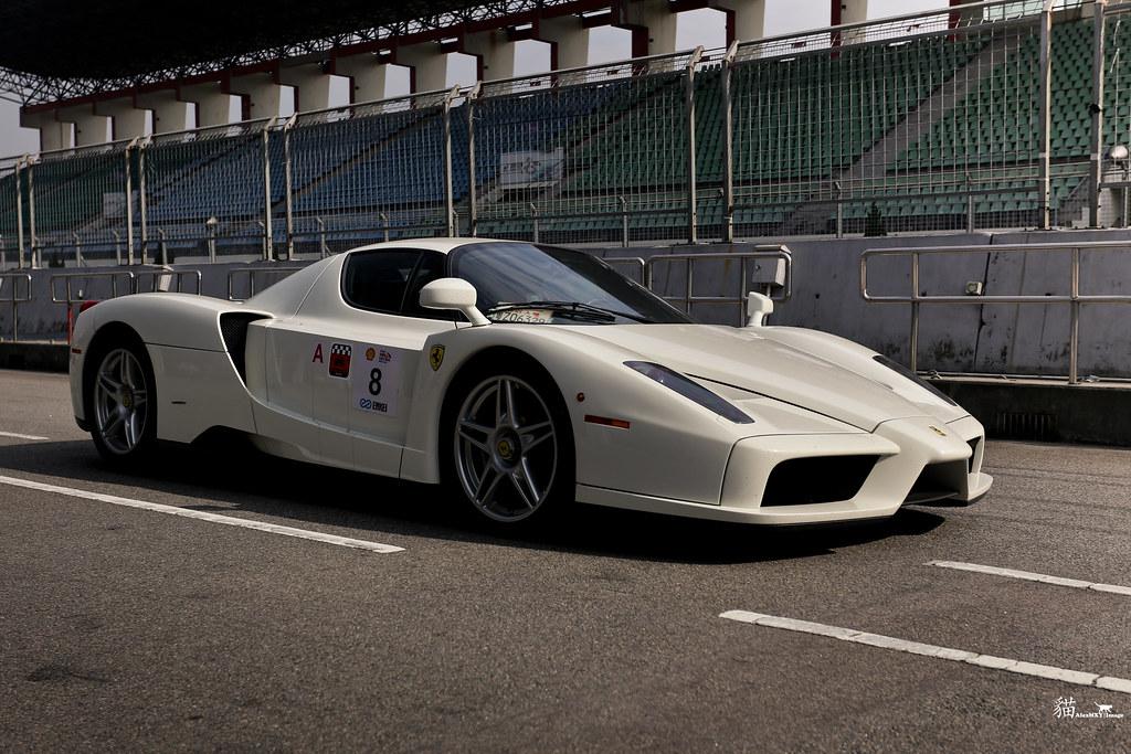 Ferrari Enzo White Alexmxy Flickr