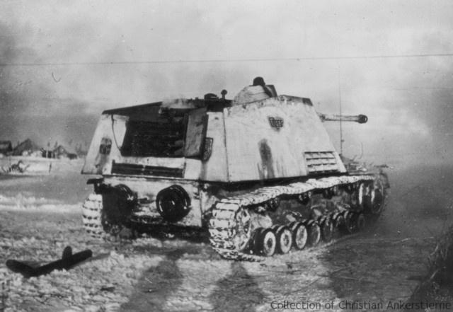German Nashorn Tank Destroyer
