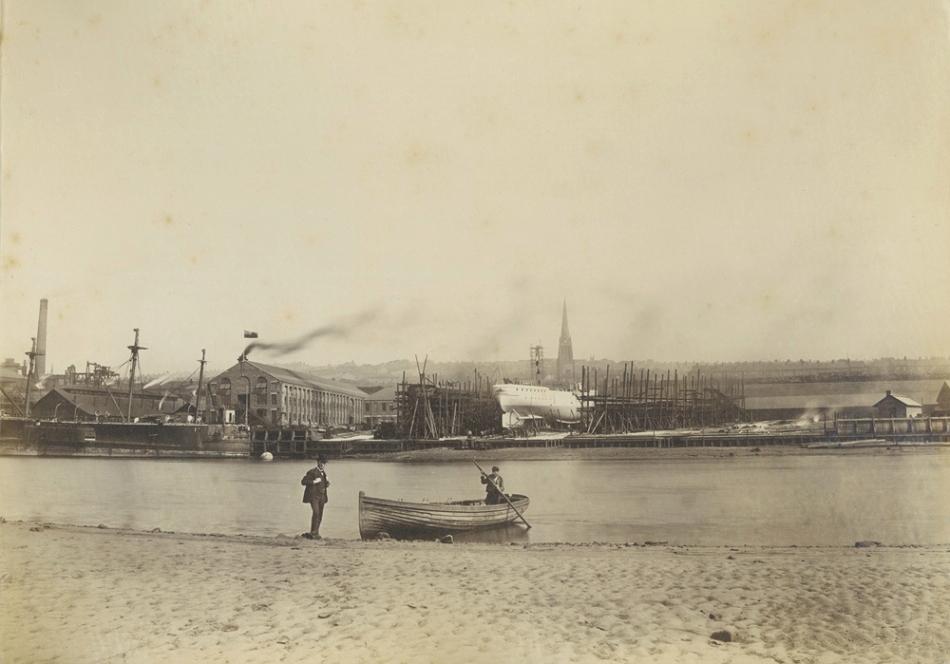 Elswick Shipyard, 1885
