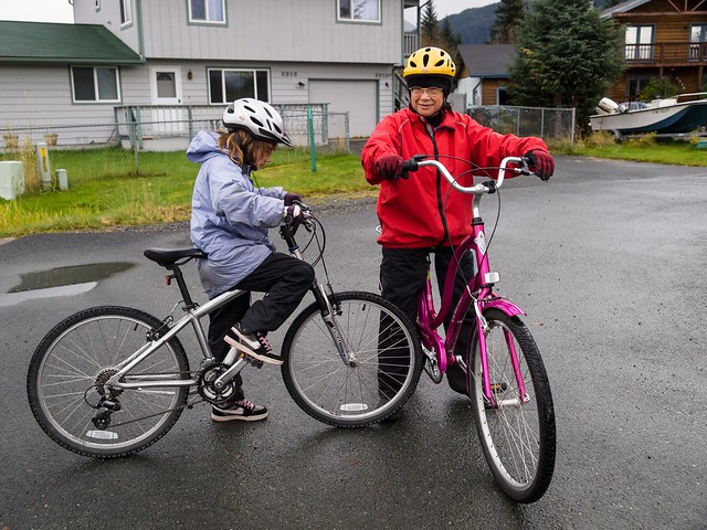 Bike ride with Grandma