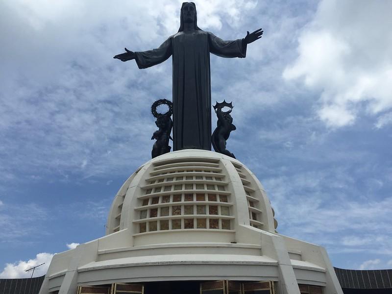 Cristo Rey en el Cerro del Cubilete