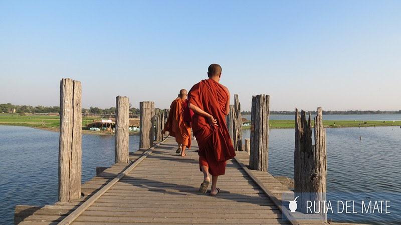 Puente U-Bein en Mandalay