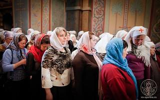 Литургия в Софийском соборе 235