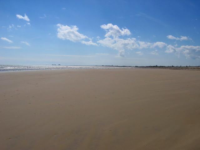 The beach at Dymchurch