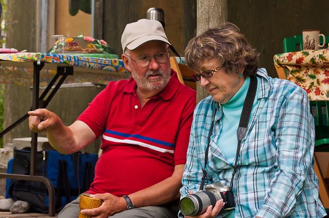 Bill Baily and Sandra Hay Talking