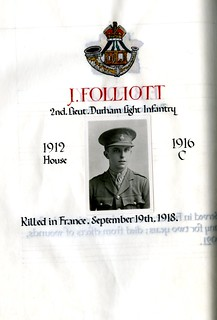 Folliott, John (1898-1918) | by sherborneschoolarchives