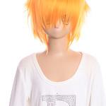 蜜芯圈cosplay万用毛 35cm反翘强悍造型 GHW01 金色系 橙黄色 F3 G系
