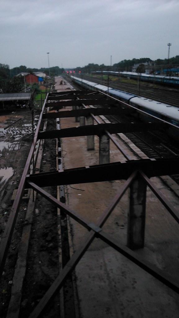 Platform 8 under construction at Nagpur Railway Station | Flickr