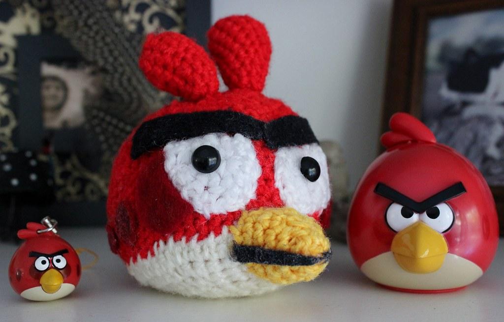 Angry Birds Amigurumi – Free Pattern | Amigurumi pattern, Crochet ... | 655x1024