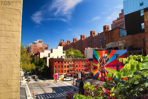 New York Color On the High Line | by KGSImaging