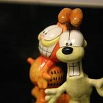 Ceramic Garfield and Odie