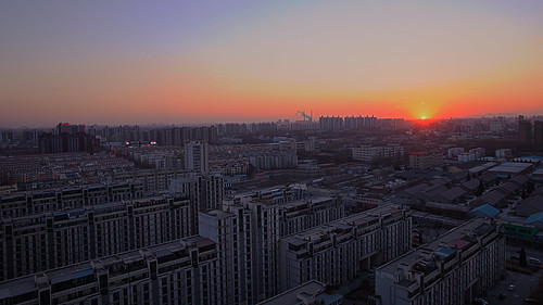 "china city winter sunset cloud sun building canon high community sundown chinese beijing 5d 365 24mm hdr ii"" 365project mark"" 5dmarkii 5dmark"