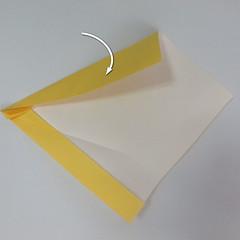 สอนวิธีพับกระดาษเป็นรูปลูกสุนัขยืนสองขา แบบของพอล ฟราสโก้ (Down Boy Dog Origami) 028